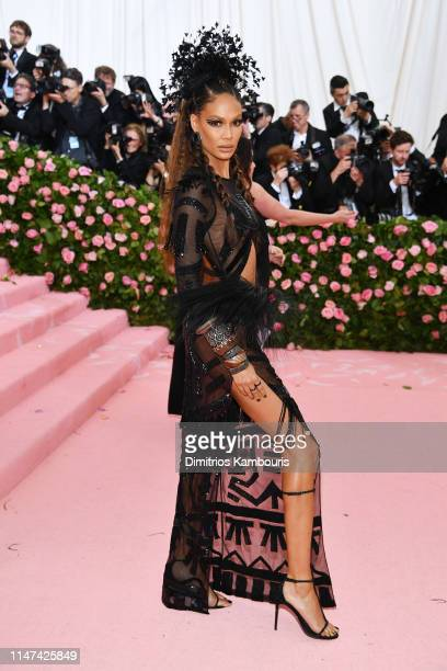 Joan Smalls attends The 2019 Met Gala Celebrating Camp: Notes on Fashion at Metropolitan Museum of Art on May 06, 2019 in New York City.