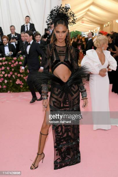 Joan Smalls attends The 2019 Met Gala Celebrating Camp Notes on Fashion at Metropolitan Museum of Art on May 06 2019 in New York City