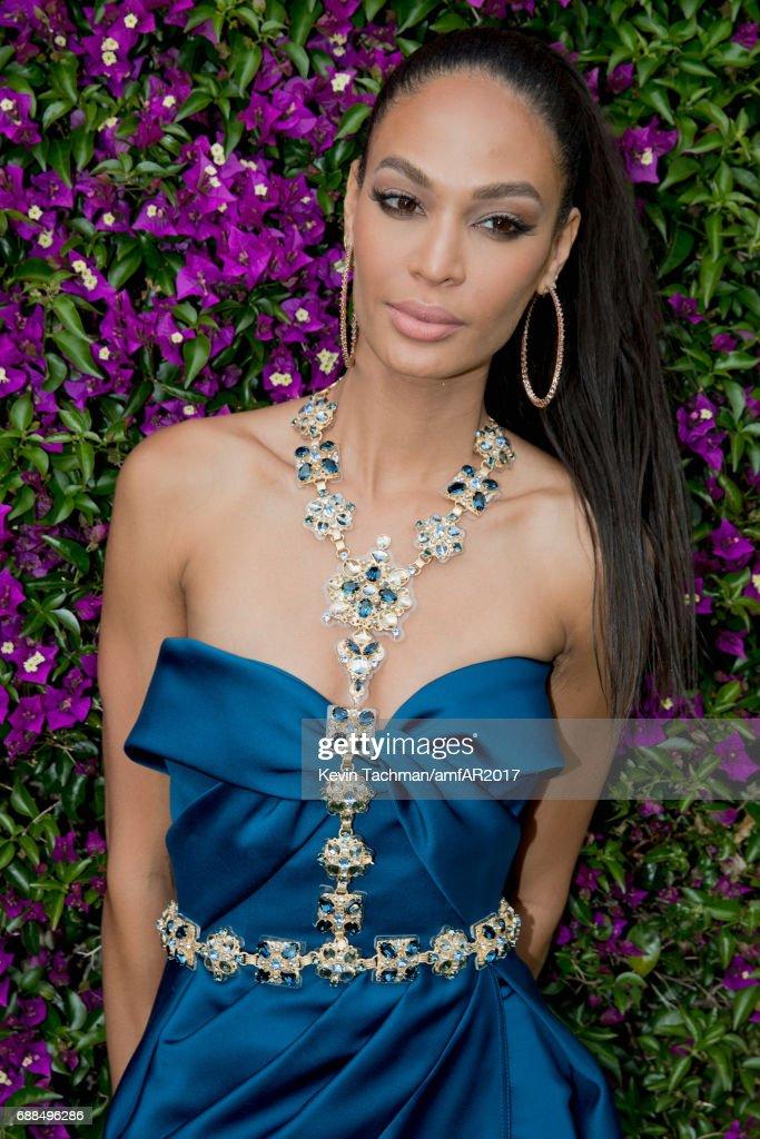 ca982c4c8ec Joan Smalls attends the amfAR Gala Cannes 2017 at Hotel du... News ...