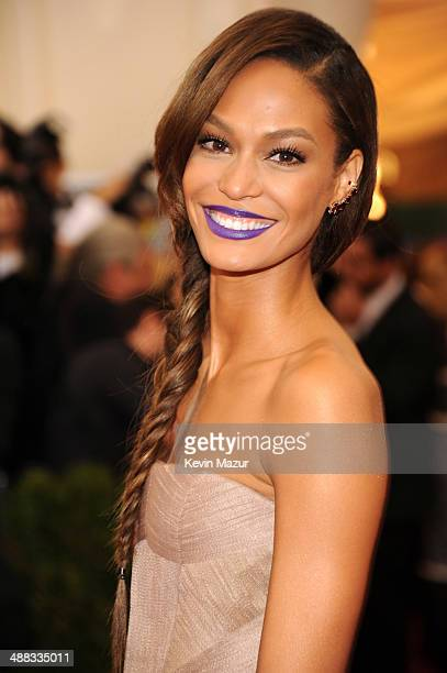 Joan Smalls attends the 'Charles James Beyond Fashion' Costume Institute Gala at the Metropolitan Museum of Art on May 5 2014 in New York City