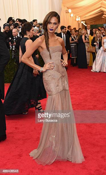 Joan Smalls attends the Charles James Beyond Fashion Costume Institute Gala at the Metropolitan Museum of Art on May 5 2014 in New York City