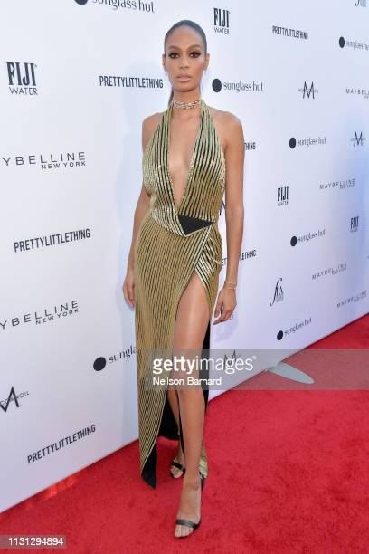 Joan Smalls attends The Daily Front Row Fashion LA Awards 2019 on March 17 2019 in Los Angeles California