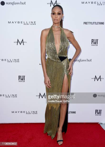 Joan Smalls attends The Daily Front Row's 5th Annual Fashion Los Angeles Awards at Beverly Hills Hotel on March 17 2019 in Beverly Hills California