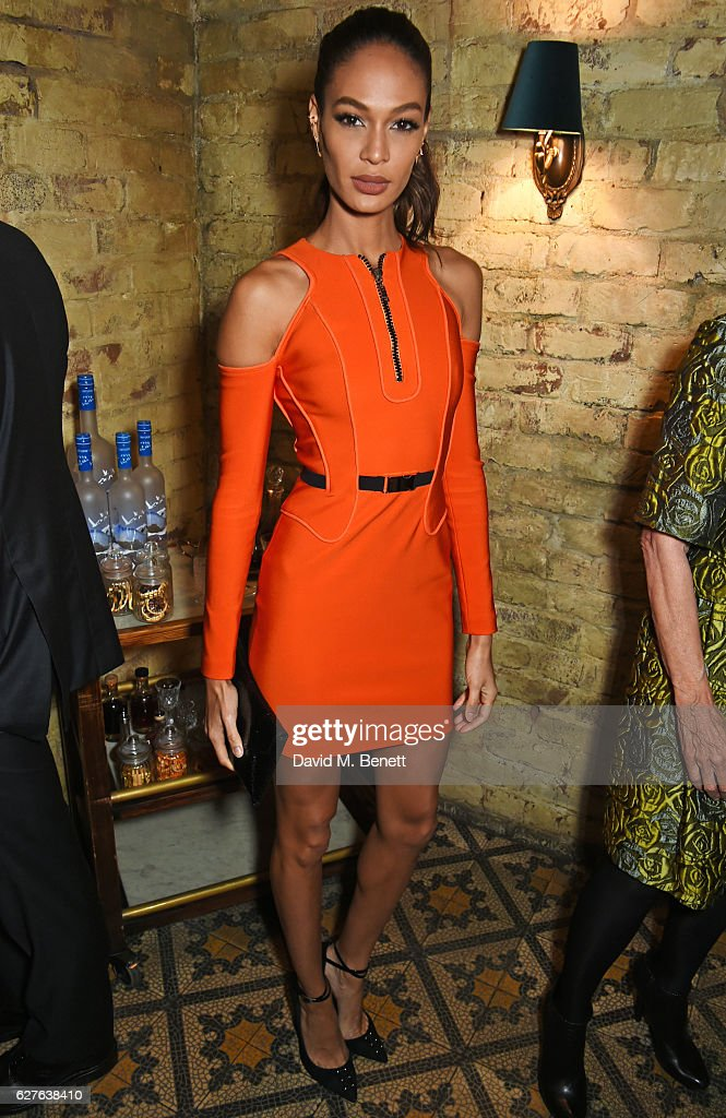 Joan Smalls attends The Fashion Awards in partnership with Swarovski nominees' lunch hosted by the British Fashion Council with Grey Goose at Little House Mayfair on December 4, 2016 in London, England.