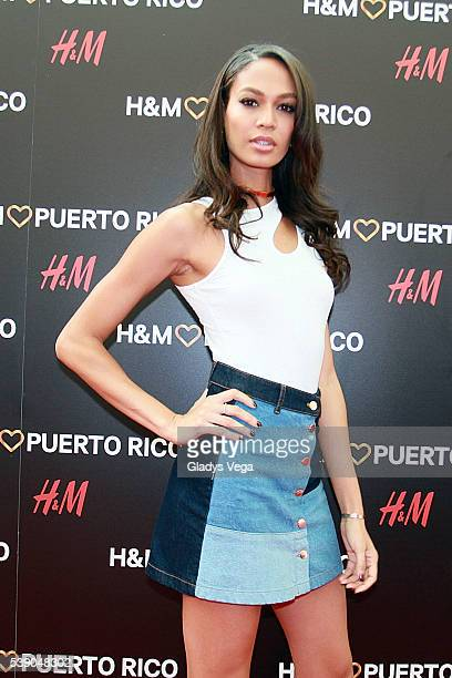 Joan Smalls attends the HM Puerto Rico Opening Day on June 9 2016 in San Juan Puerto Rico
