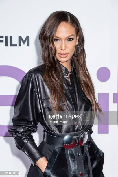 Joan Smalls attends the New York special screening of the Netflix film 'Set It Up' at AMC Loews Lincoln Square