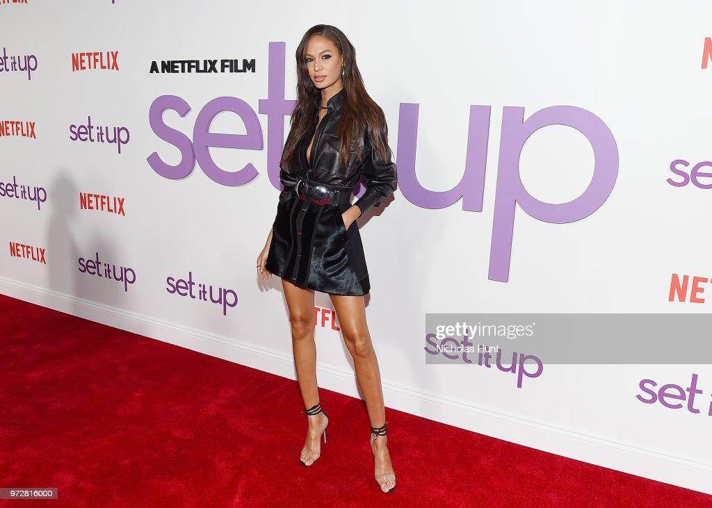 """Set It Up"" New York Screening : News Photo"