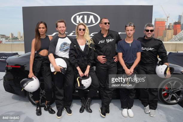 Joan Smalls Derek Blasberg Candice Swanepoel Alex Rodriguez Cameron Dallas and Brandon Maxwell put the style and performance of the allnew 2018 Kia...