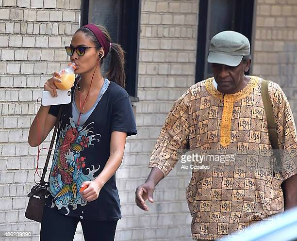 Joan Smalls is seen in the West Village on September 2, 2015 in New York City.