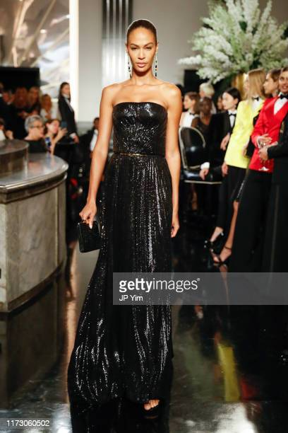 Joan Smalls walks the runway at the Ralph Lauren Fall 2019 Collection at William and Wall on September 07 2019 in New York City