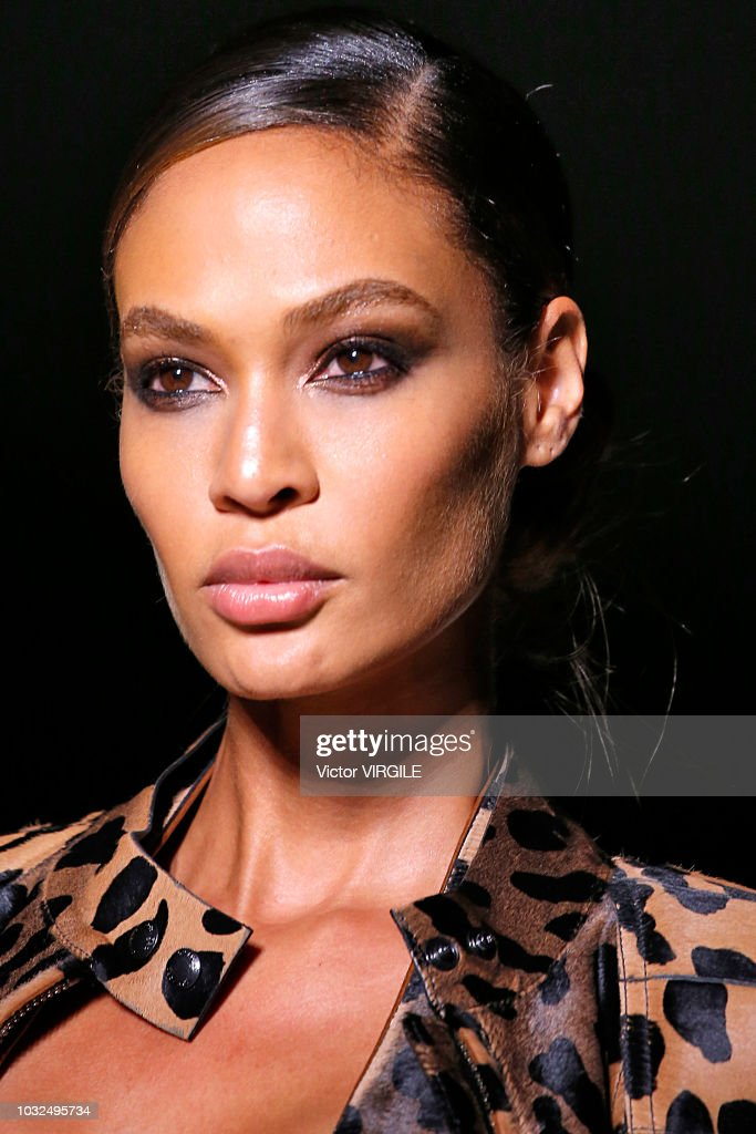 Joan Smalls walks the runway at the Tom Ford fashion show during New York Fashion Week Spring/Summer 2019 on September 5, 2018 in New York City.