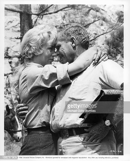 Joan Staley expresses her approval of Earl Bellamy's direction in a scene from the film 'Gunpoint' 1966
