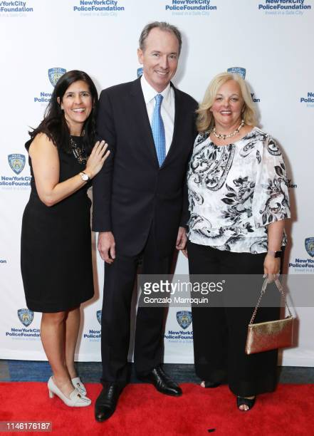 Joan Steinberg James P Gorman and Margaret FlynnMartin attend the 2019 New York City Police Foundation Gala at New York Hilton Midtown on April 30...