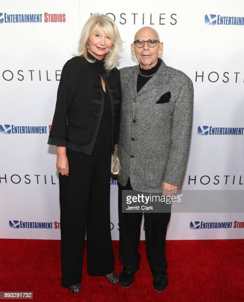 Joan Stewart and Dennis Jacobs attend the Premiere Of Entertainment Studios Motion Pictures' 'Hostiles' at Samuel Goldwyn Theater on December 14 2017...