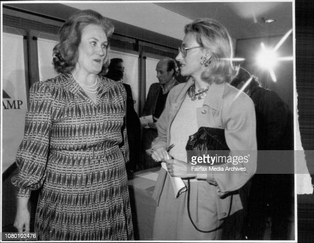 Joan Sutherland and Marilyn Horne At There Press ConferenceJill Warn is her capacity as an ABC interviewer for the simulcast talks with Dame JoanDame...