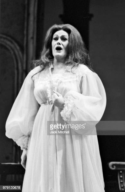Joan Sutherland in 'Rigoletto' at the Metropolitan Opera in June 1972