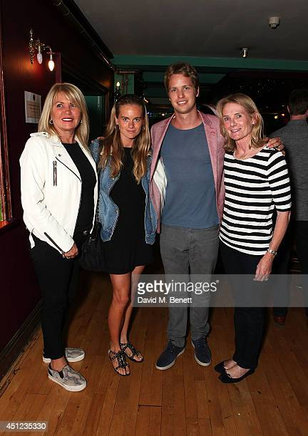 Joan Templeman Cressida Bonas Sam Branson and Lady MaryGaye Georgiana Lorna Curzon attend an after party following the press night performance of The...