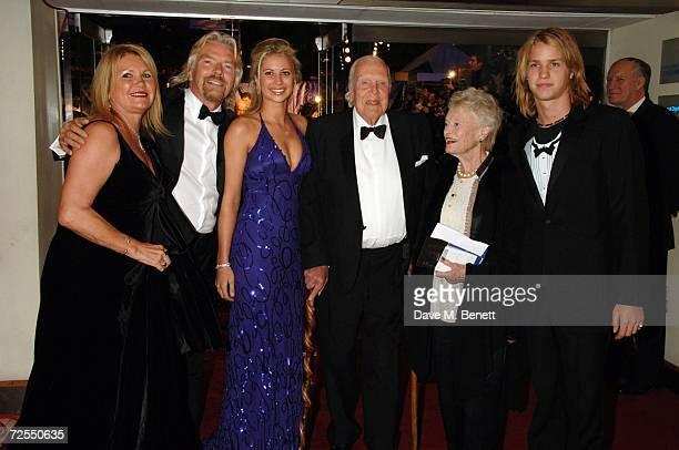 Joan Templeman Richard Branson Holly Branson Ted and Eve Branson and Sam Branson arrive at the world premiere of the new James Bond film Casino...