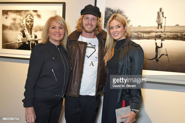 Joan Templeman, Sam Branson and Isabella Calthorpe attend the Warrior Games Exhibition VIP preview party sponsored by Chantecaille and hosted by HRH...