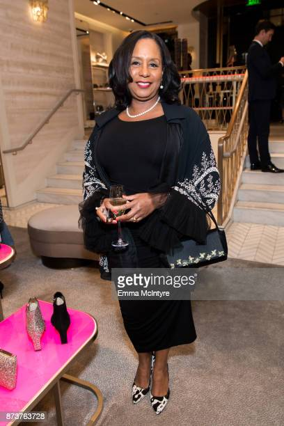 JoAn Turman attends 'Vanity Fair Jimmy Choo and Samantha McMillen Host a PreHoliday Styling Event Supporting the Women's Cancer Research Fund' on...