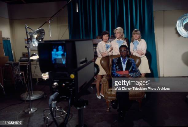Joan Van Ark Reva Rose Cleavon Little Nancy Fox appearing on the ABC tv series 'The New Temperatures Rising Show' episode 'RX Nose Job'