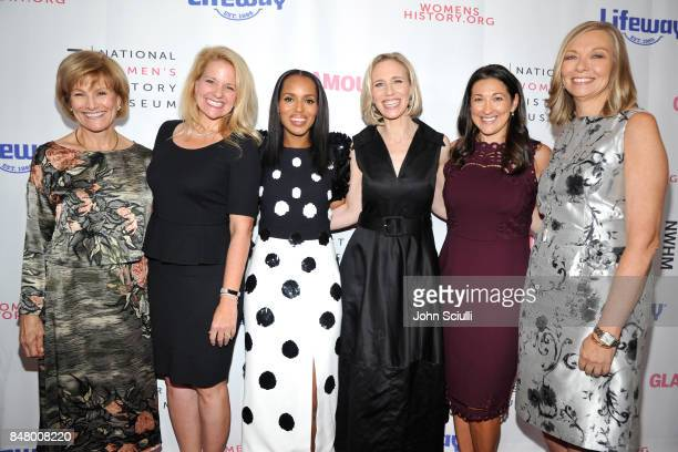 Joan Wages Gwynne Shotwell Kerry Washington Marne Levine Elana PiankoGinsburg and Susan Whiting at the Women Making History Awards at The Beverly...