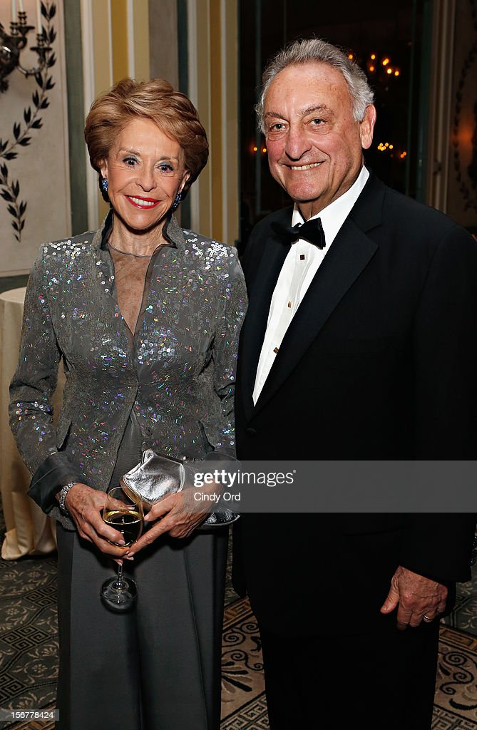 Joan Weill and Sanford Weill attend the 2012 History Makers Gala at The Pierre Hotel on November 20, 2012 in New York City.