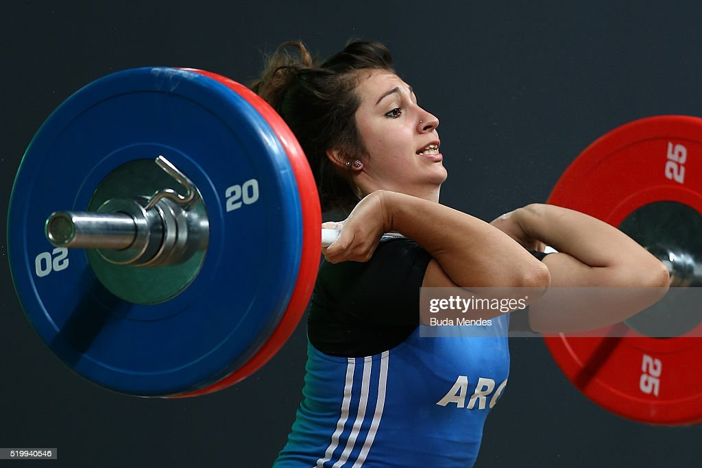 South American Weightlifting Championship - Aquece Rio Test Event for the Rio 2016 Olympics : News Photo