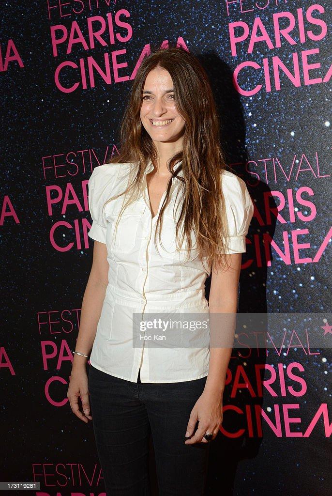 Joana Preiss attends 'La Vie D'Adele' Paris Premiere At MK2 Bibliotheque on July 7, 2013 in Paris, France.
