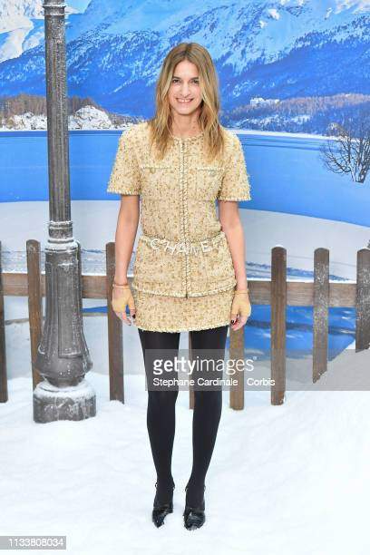 Joana Preiss attends the Chanel show as part of the Paris Fashion Week Womenswear Fall/Winter 2019/2020 on March 05 2019 in Paris France