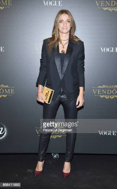 Joana Preiss attends the Irving Penn Exhibition Private Viewing Hosted by Vogue as part of the Paris Fashion Week Womenswear Spring/Summer 2018 on...