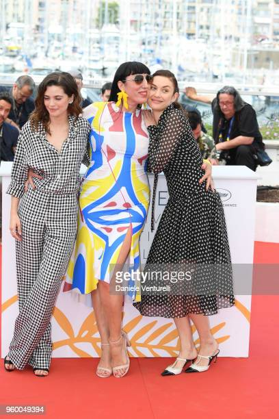Joana Ribeiro Rossy de Palma and Olga Kurylenko attend the photocall for the The Man Who Killed Don Quixote during the 71st annual Cannes Film...