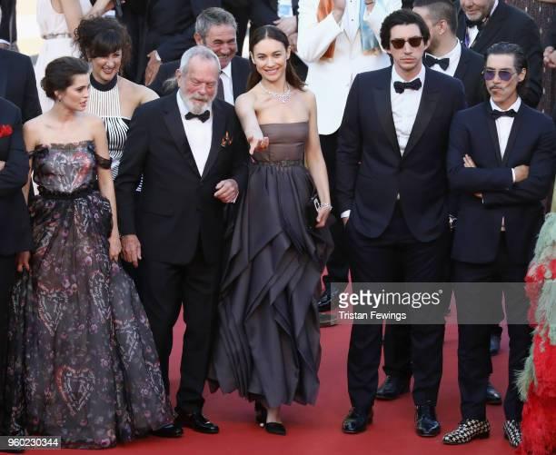 Joana Ribeiro Terry Gilliam Olga Kurylenko Adam Driver and Oscar Jaenada attend the screening of 'The Man Who Killed Don Quixote' and the Closing...