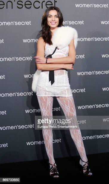 Joana Sanz attends the event Women'Secret Night to present the campaign Wanted on November 2 2017 in Madrid Spain
