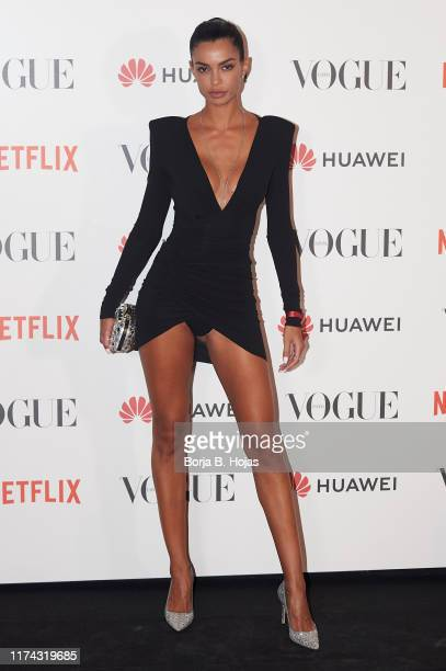 Joana Sanz attends to Vogue Fashion Night Out 2019 on September 12 2019 in Madrid Spain