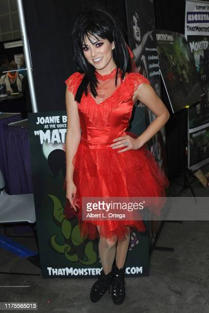 Joanie Brosas attends Day 3 of the 2019 Los Angeles ComicCon held at Los Angeles Convention Center on October 10 2019 in Los Angeles California