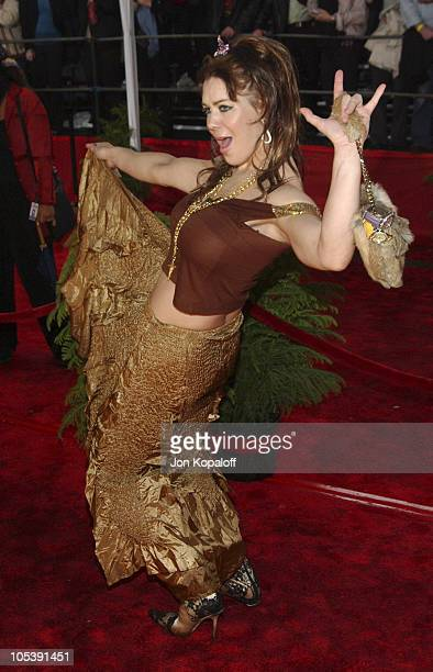Joanie Chyna Laurer during 31st Annual People's Choice Awards Arrivals at Pasadena Civic Auditorium in Pasadena California United States