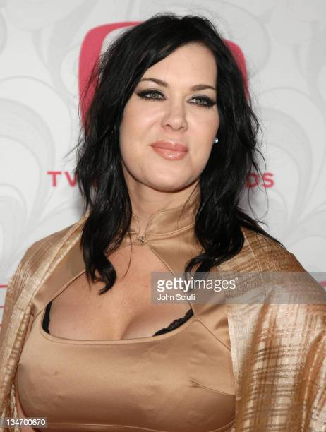 Joanie Chyna Laurer during 5th Annual TV Land Awards Arrivals at Barker Hanger in Santa Monica CA United States