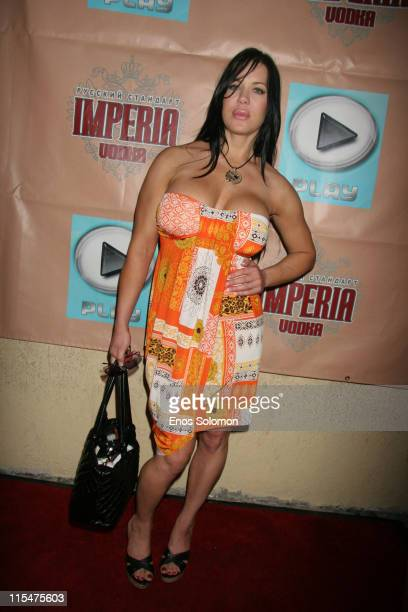Joanie Chyna Laurer during Mary Carey Birthday Party June 15 2007 at Birthday Party in Hollywood CA United States