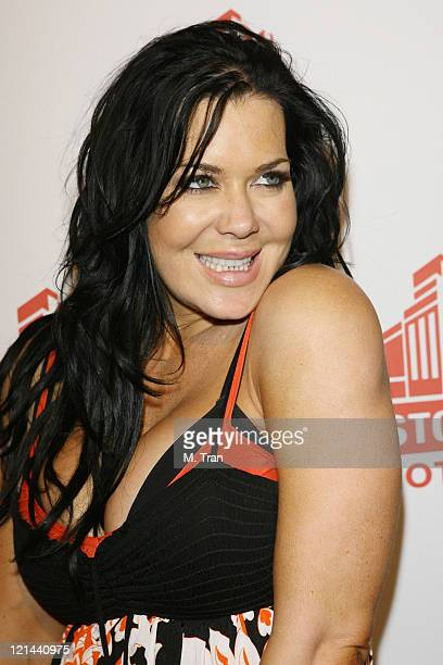 Joanie Chyna Laurer during Sons of Hollywood Host Party at the Stoli Hotel at Stoli Hotel in Hollywood California United States