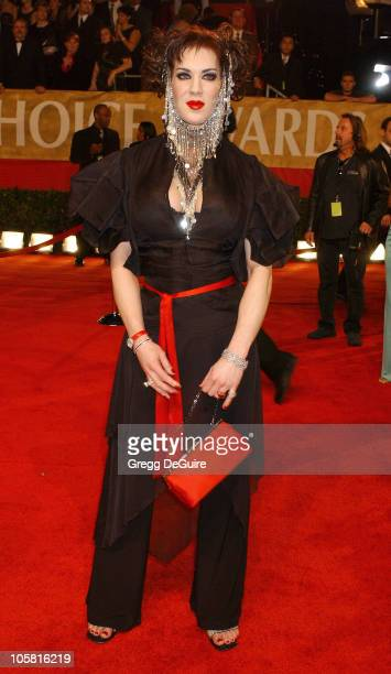Joanie Lauer during The 30th Annual People's Choice Awards Arrivals at Pasadena Civic Auditorium in Pasadena California United States