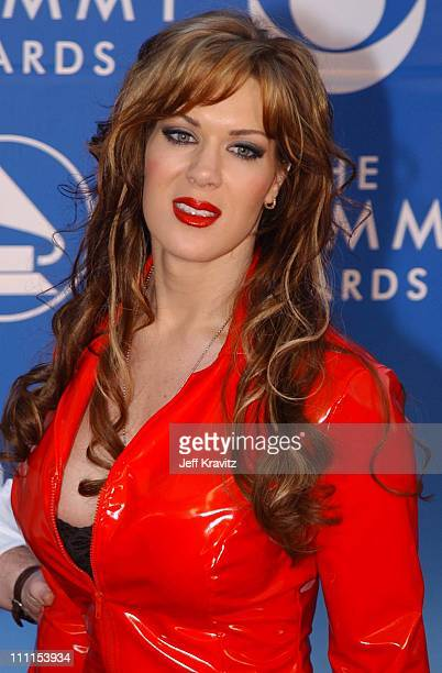 Joanie Lauer during The 44th Annual Grammy Awards at Staples Center in Los Angeles California United States