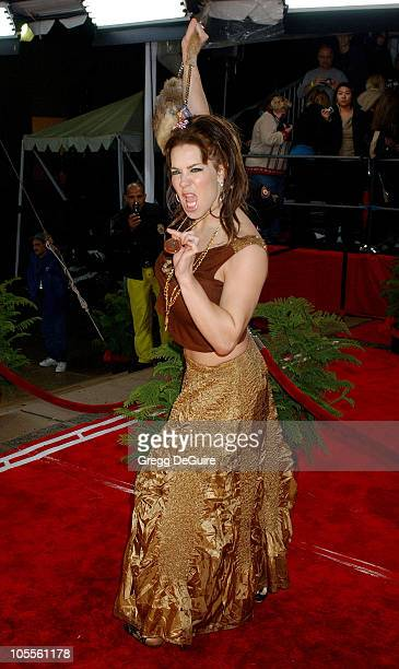 Joanie Laurer during 31st Annual People's Choice Awards Arrivals at Pasadena Civic Auditorium in Pasadena California United States