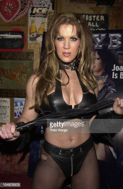 Joanie Laurer during Exotic Erotic Ball the world's most decadent party at Manhattan's Webster Hall at Webster Hall in New York City New York United...