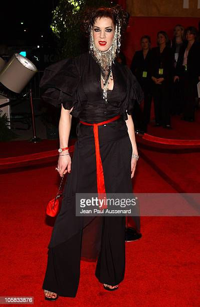 Joanie Laurer during The 30th Annual People's Choice Awards Arrivals at Pasadena Civic Auditorium in Pasadena California United States