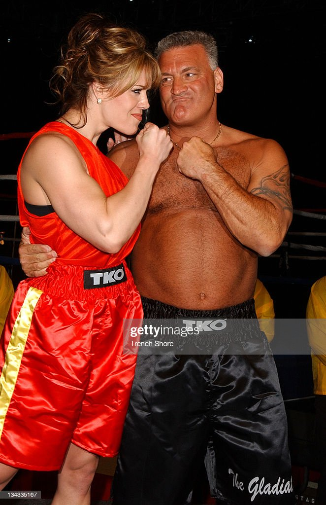 """Celebrity Boxing 2""  Weigh-In : News Photo"