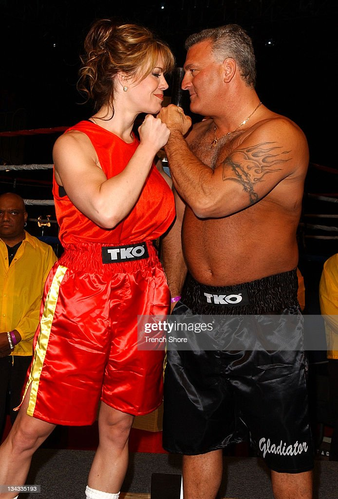 """""""Celebrity Boxing 2""""  Weigh-In : News Photo"""
