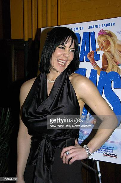 Joanie Laurer who was formerly known as WWF wrestler Chyna is on hand at Tribeca Cinemas on Varick St for a screening of the comedy Illegal Aliens...