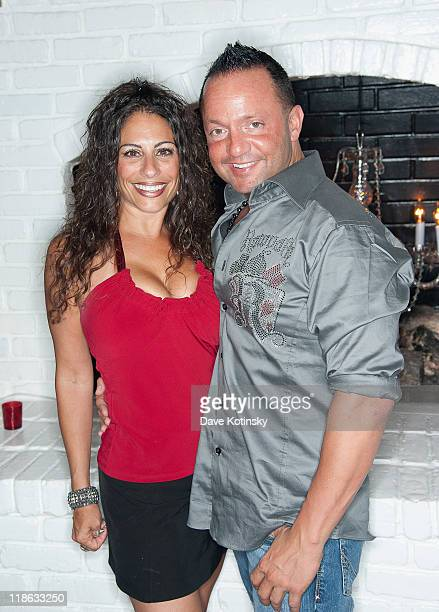 Joanie Maiorella and Frank Sorrentino visit Park East on July 8 2011 in Hazlet New Jersey