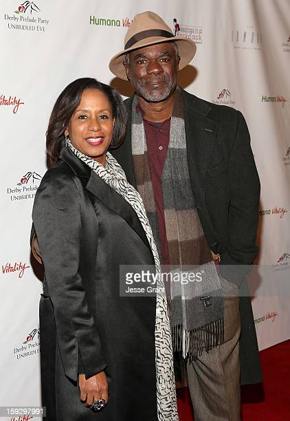 JoAnn Allen and Glynn Turman attend The 4th Annual Unbridled Eve Derby Prelude Party at The London West Hollywood on January 10 2013 in West...